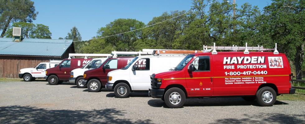 Hayden Fire Protection Fleet